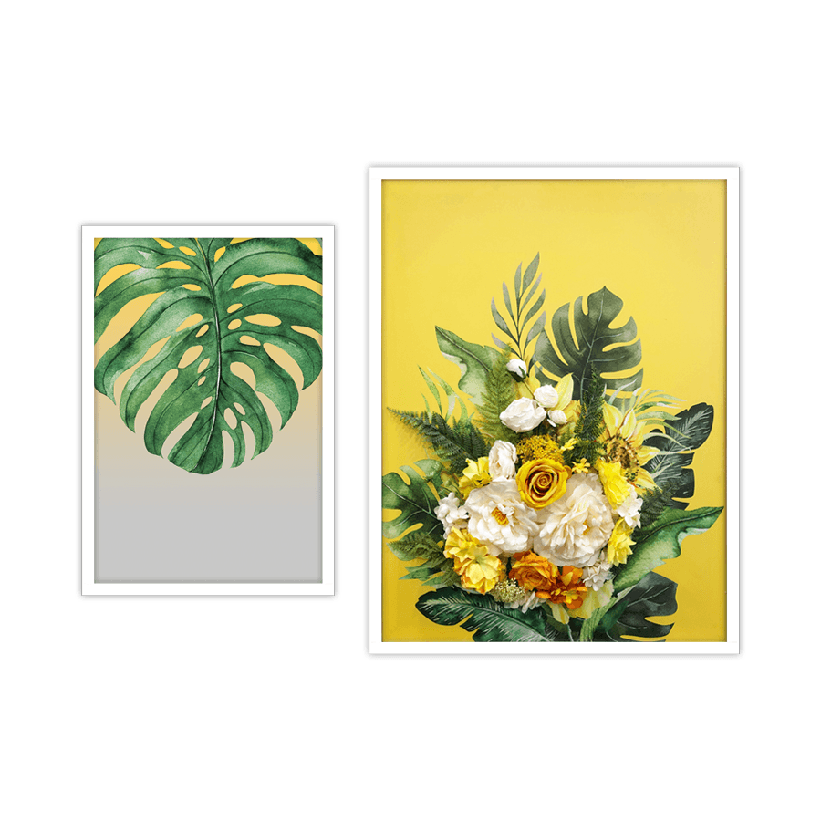 Yellow Blooms Mini Set 2