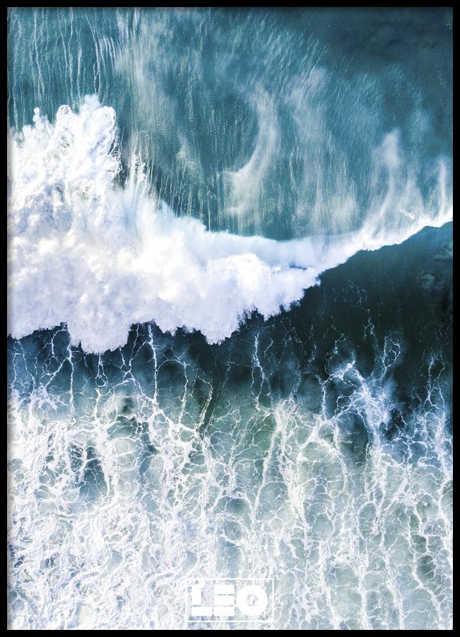 Tranh lẻ canvas Surfer wave