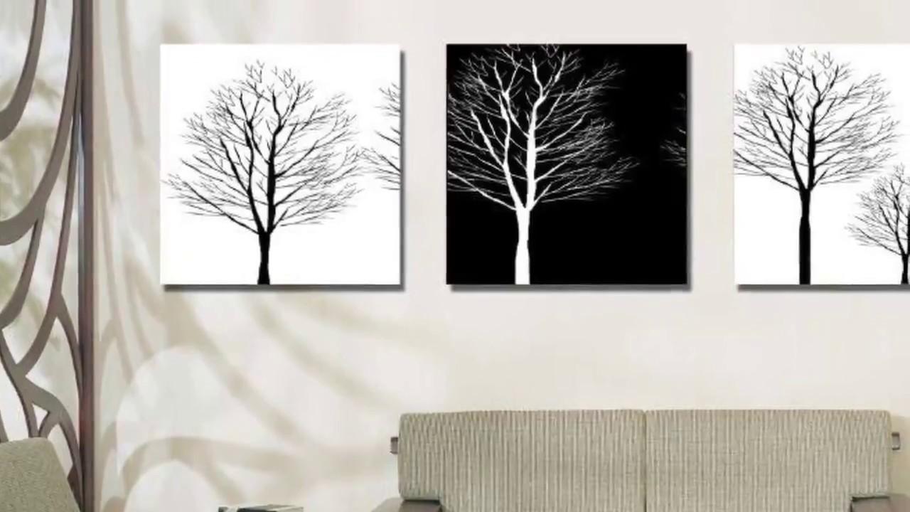 mẫu tranh đen trắng đẹp treo tường được ưa thích 2019 - 10