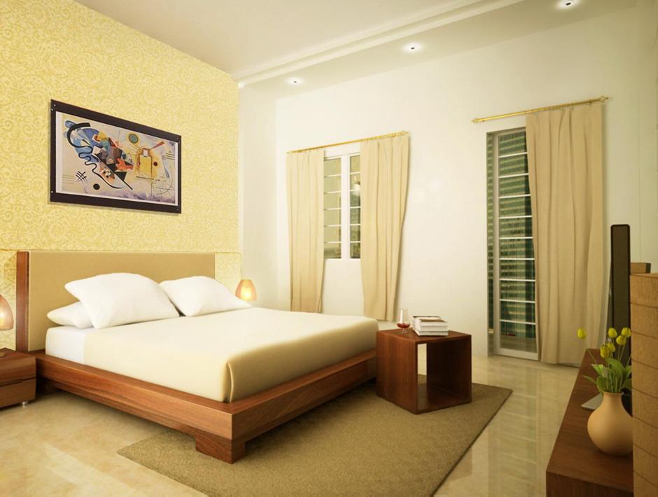Tranh trang trí nhà nghỉ khách sạn đẹp