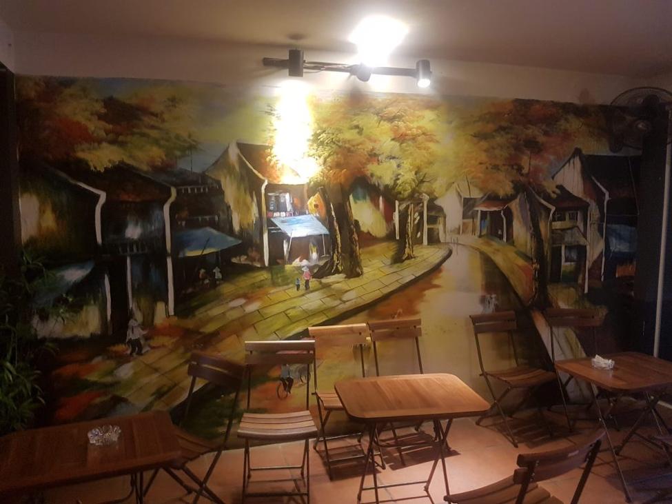 tranh treo tường quán cafe