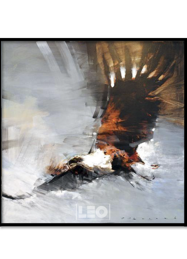 Tranh sơn dầu Eagle King