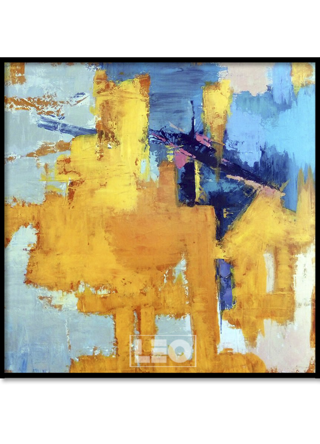 Tranh sơn dầu Abstract No8