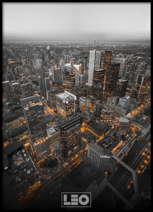 TRANH LẺ CANVAS CITY 09