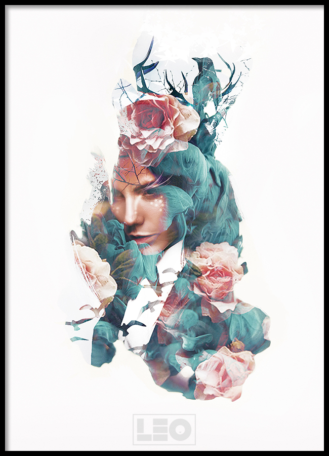 TRANH LẺ CANVAS LADY 13